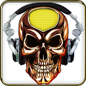 SKULL MUSIC MP3 Player icon