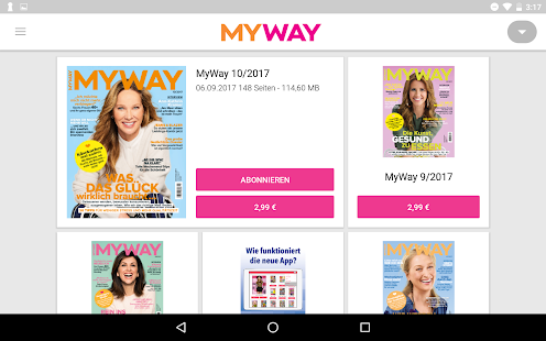 MyWay ePaper - náhled