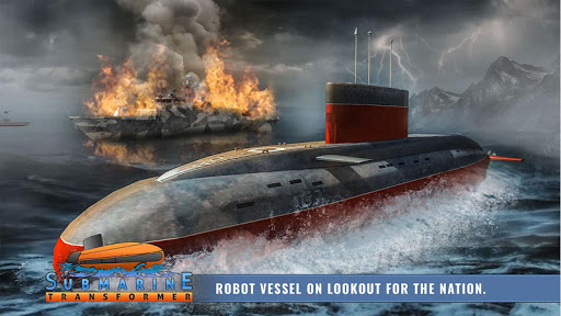 Russian Submarine Robot Transformation Game 1.0.5 androidappsheaven.com 2