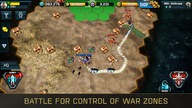 War Commander: Rogue Assault APK screenshot thumbnail 7