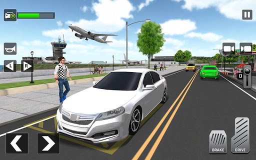 City Taxi Driving: Fun 3D Car Driver Simulator screenshots 1