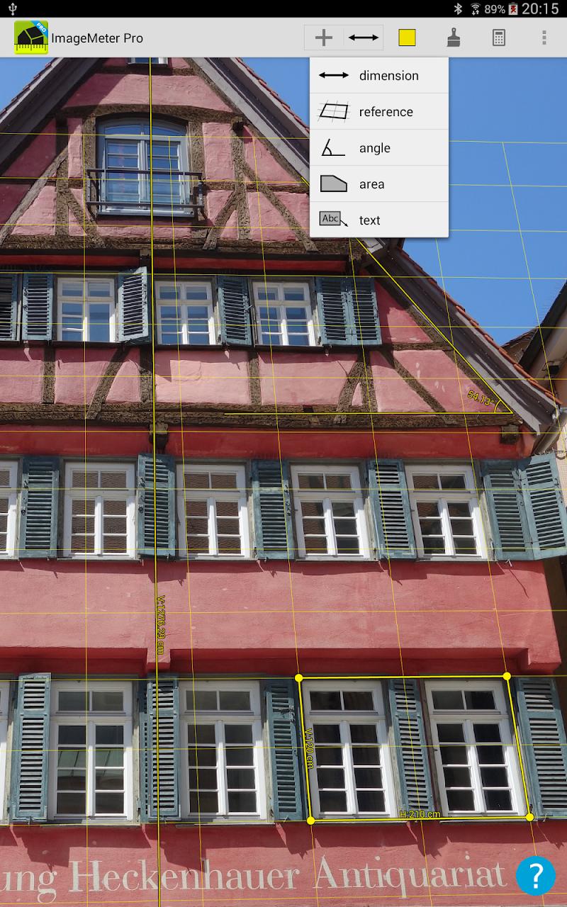ImageMeter - photo measure Screenshot 6