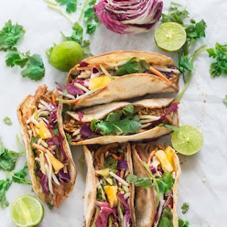 Bahn Mi Tacos with Pineapples
