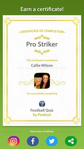 Soccer Quiz 2020 (Football Quiz) screenshots 10