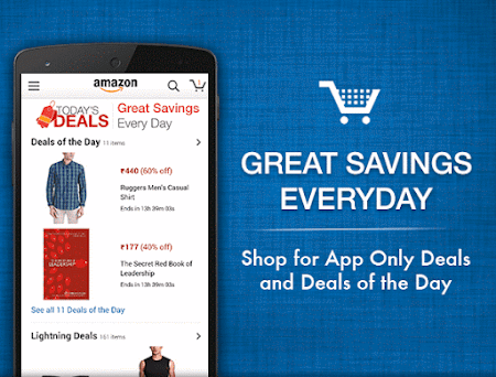 Amazon India Shopping 6.1.4.300 screenshot 249708