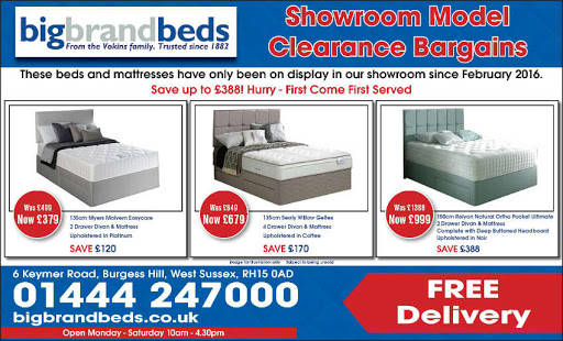 Myers Relyon Sealy Beds SM