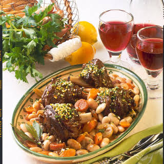 Lamb Shank with Beans.