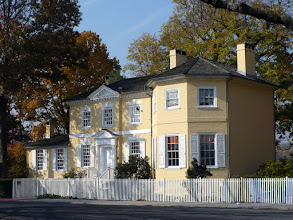 Photo: 3.a. Laurel Hill. Rebecca Rawle, a wealthy Loyalist widow, built this small country house in the Georgian style around 1767.