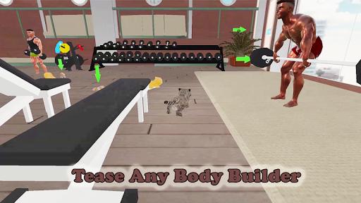 Kitten Cat Vs Six Pack Fitness Master in Gym screenshot 8