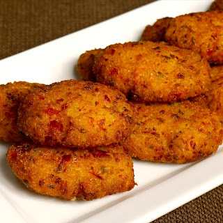 Vegetable Rice Cutlets.