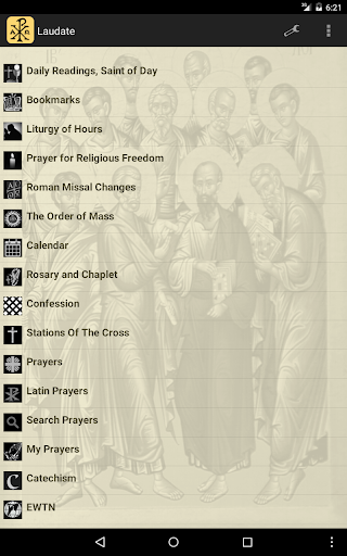 Catholic Mass Daily Readings screenshot 9