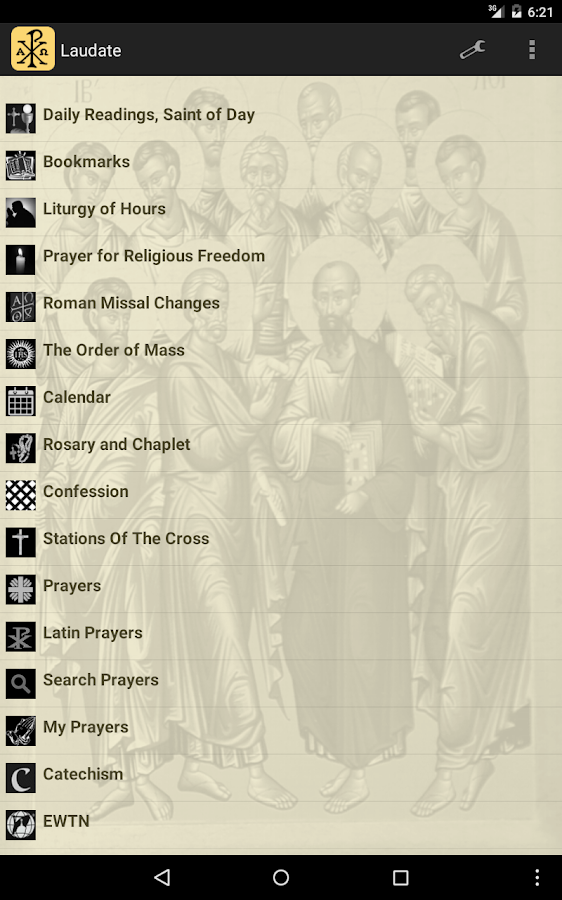 Laudate - #1 Free Catholic App- screenshot