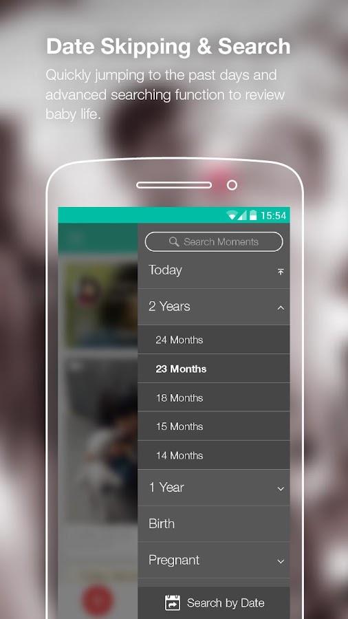 Peekaboo moments-baby journal - screenshot