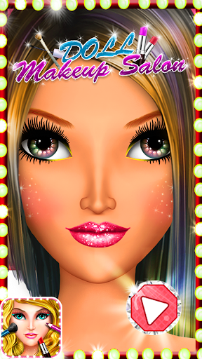 Doll Makeup Salon : Girls Game
