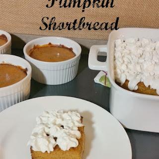 Pumpkin Shortbread.
