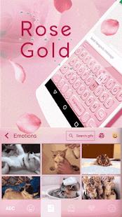 Rose-Gold-Emoji-Kika-Keyboard 2
