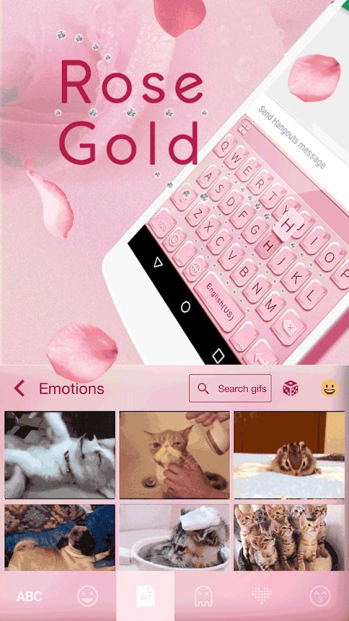 Rose-Gold-Emoji-Kika-Keyboard 8