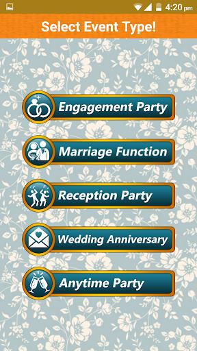 Wedding Invitation Cards Maker Marriage Card App 1.13 screenshots 1
