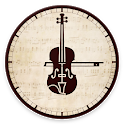 Classical Music Alarm Clock and Player icon