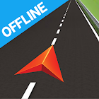 Бесплатная GPS-навигация icon