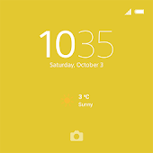 XPERIA™ Theme: Yellow