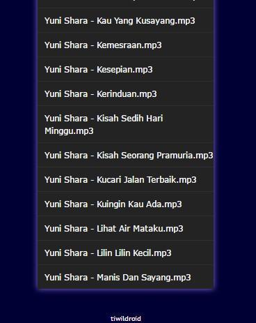 Pop kenangan yuni shara terpopuler for android apk download.