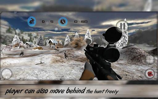 玩免費冒險APP|下載ウサギハンタースノーマウンテン3D app不用錢|硬是要APP