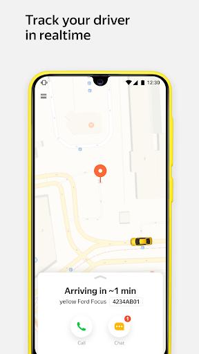 Yandex.Taxi Ride-Hailing Service. Book a car. 3.130.2 screenshots 5