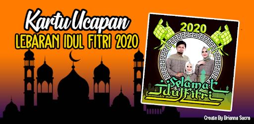 Kartu Ucapan Idul Fitri 2020 Photo Frame Lebaran Apps On