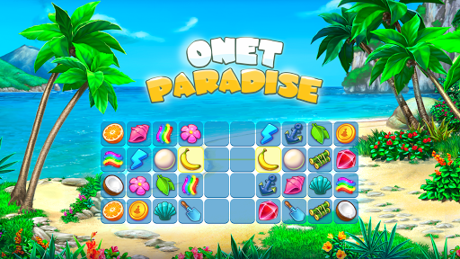 Onet Paradise: connect 2 tiles, pair matching game filehippodl screenshot 1