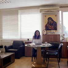 Photo: title: Maro Zina, Piraeus, Greece date: 2014 relationship: friends, met through Petros Kokkalis years known: 0-5