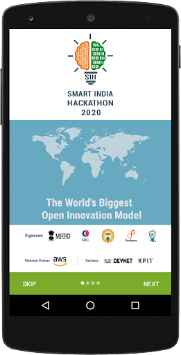 Smart India Hackathon SIH v0.2.4 screenshots 1