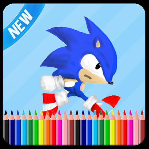 ColoringBook For Sonik Fans