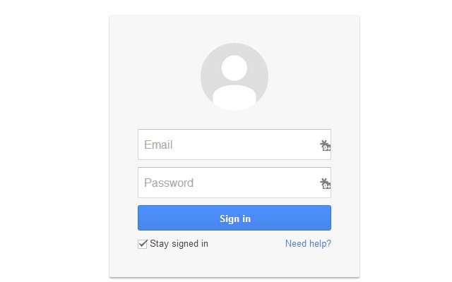 Quick Login for Google Accounts (minor fix)