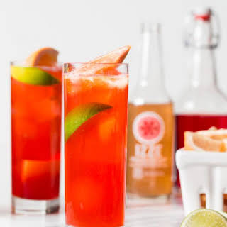 Grapefruit Bitter Bit Beautiful Cocktail.