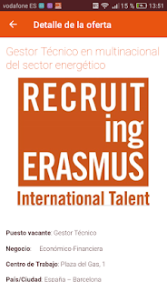 Recruiting Erasmus- screenshot thumbnail