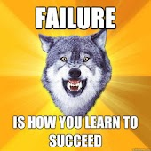 Cheer up with motivation Wolf