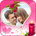 Valentine's Love Photo Frame Icon
