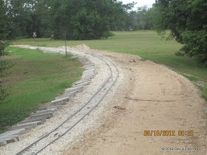 Photo: Phase II washout between West Sumrall and Dead Man's Curve.  HALS 2012-0818 David Hannah photo