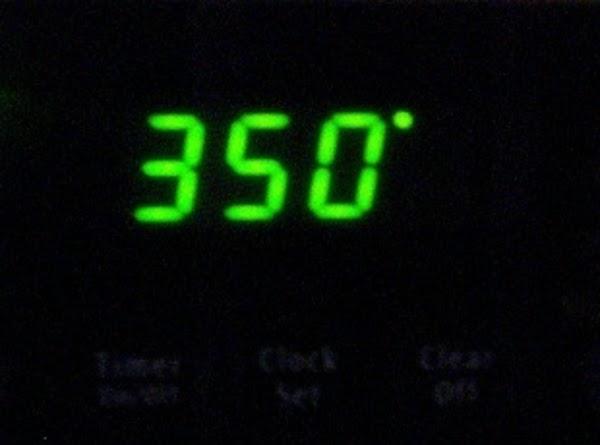 preheat oven to 375 degrees