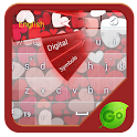 Sweet Loving Heart GO Keyboard icon