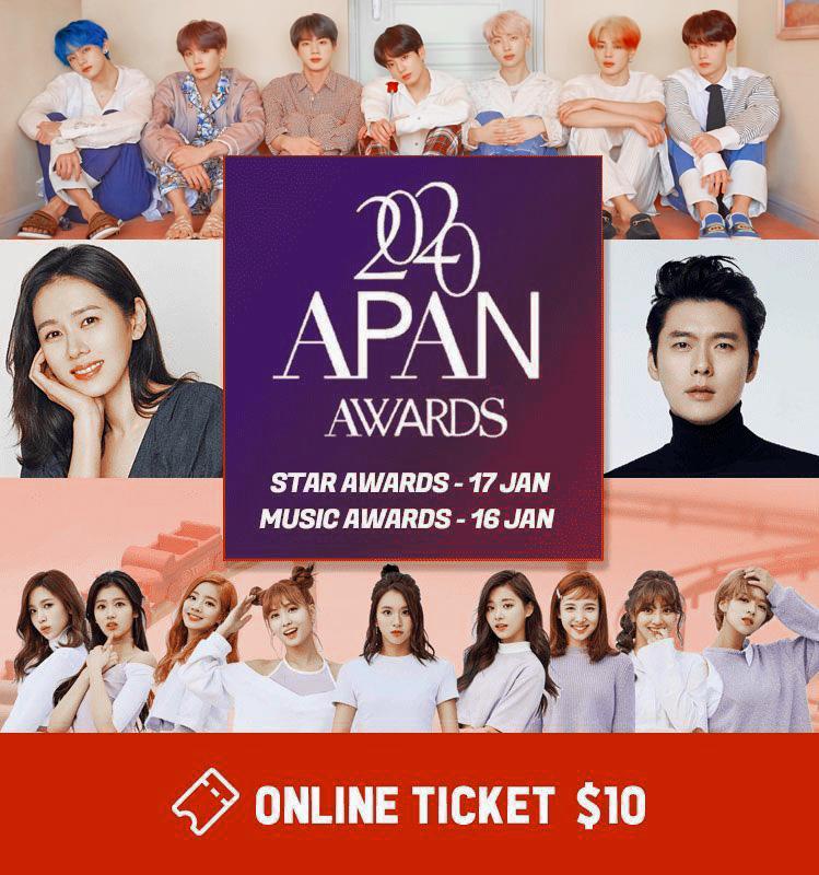 2020 apan awards poster bts v added fanmade @aiukimaru