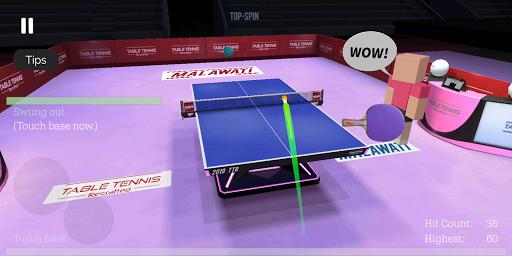 Télécharger Gratuit Table Tennis ReCrafted! mod apk screenshots 2