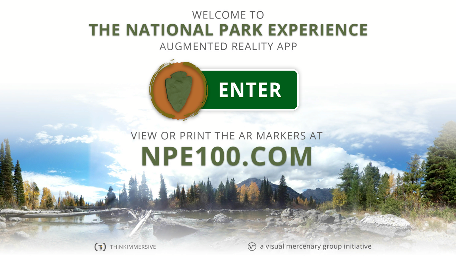 National Park Experience: AR- screenshot