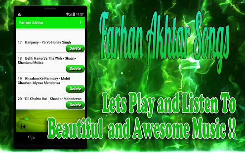 Songs Farhan Akhtar - náhled