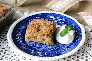 German Streusel Coffee Cake 1953