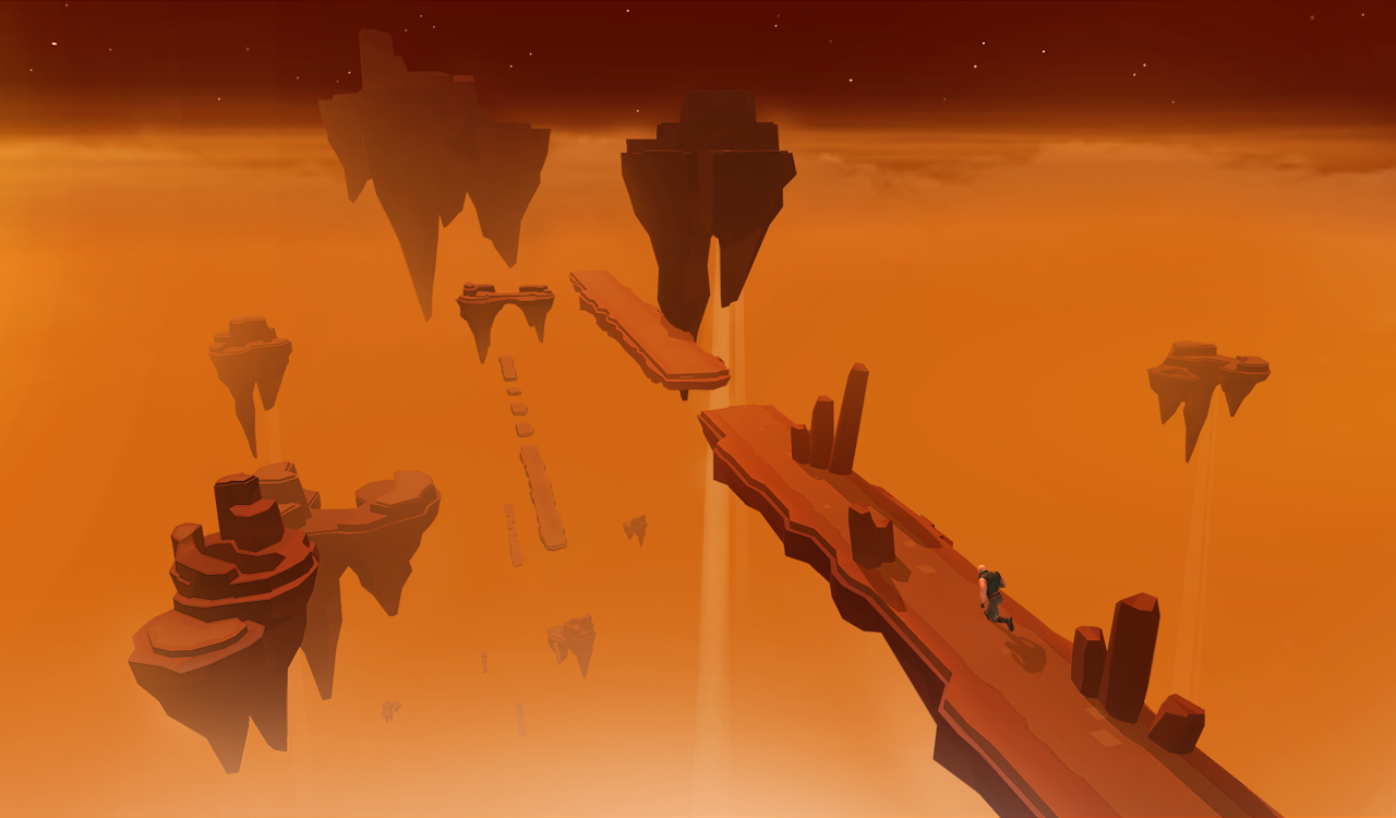 Sky Dancer: Parkour Freerunner- screenshot