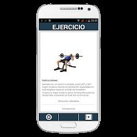 Screenshot of GymG Fitness PRO