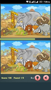 Find The Differences – Cartoon Spot The Difference 1.3.0 (MOD + APK) Download 1