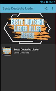 Beste Deutsche Lieder